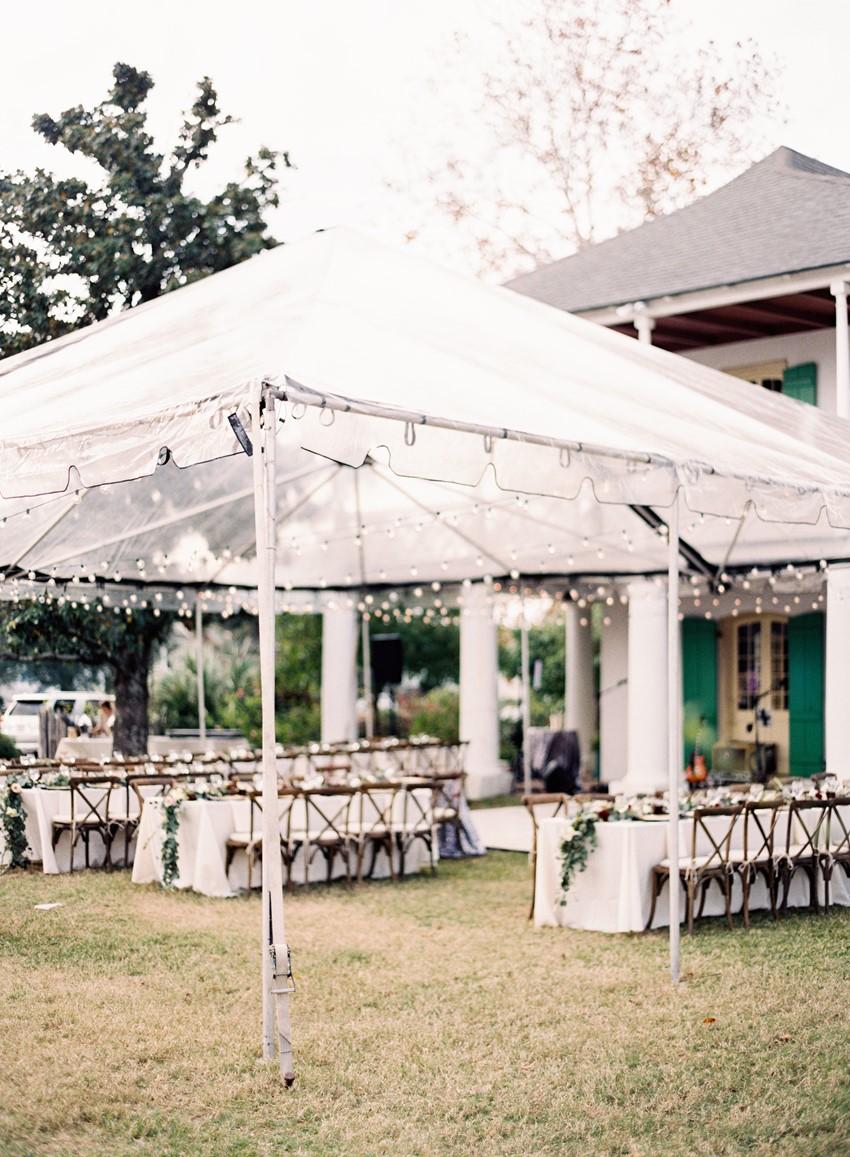 Romantic Garden Wedding Reception // Photography ~ Marissa Lambert Photography