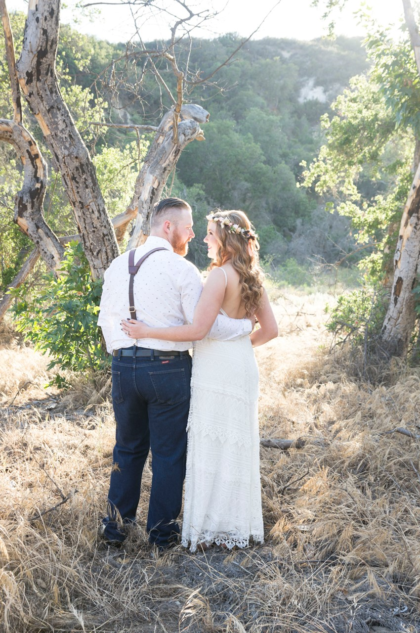 A Romantic Boho Anniversary Shoot
