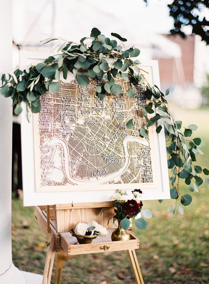 Lasercut Wedding Seating Chart // Photography ~ Marissa Lambert Photography