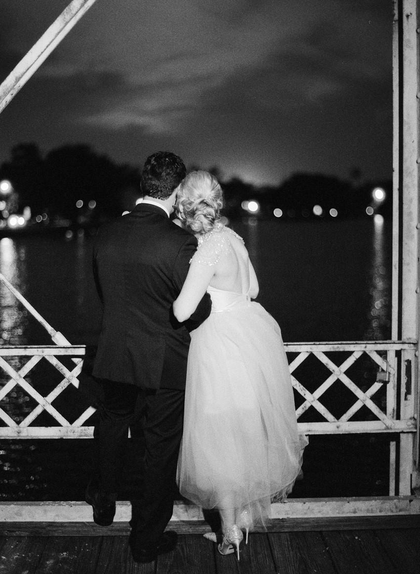 Black & White Wedding Portrait // Photography ~ Marissa Lambert Photography