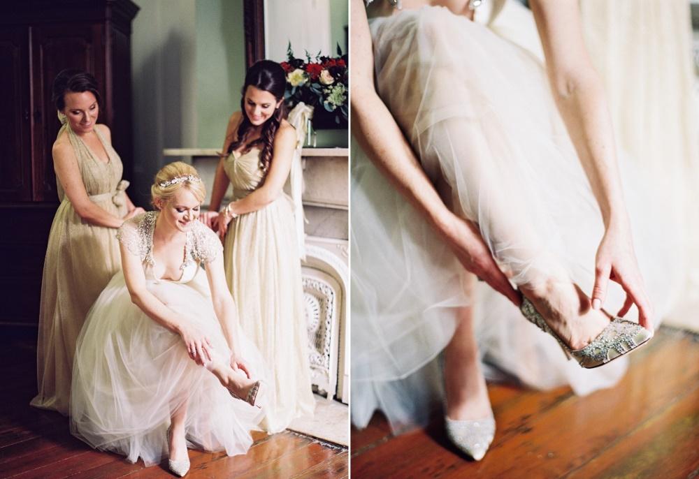 Bride & Bridesmaids Getting Ready // Photography ~ Marissa Lambert Photography