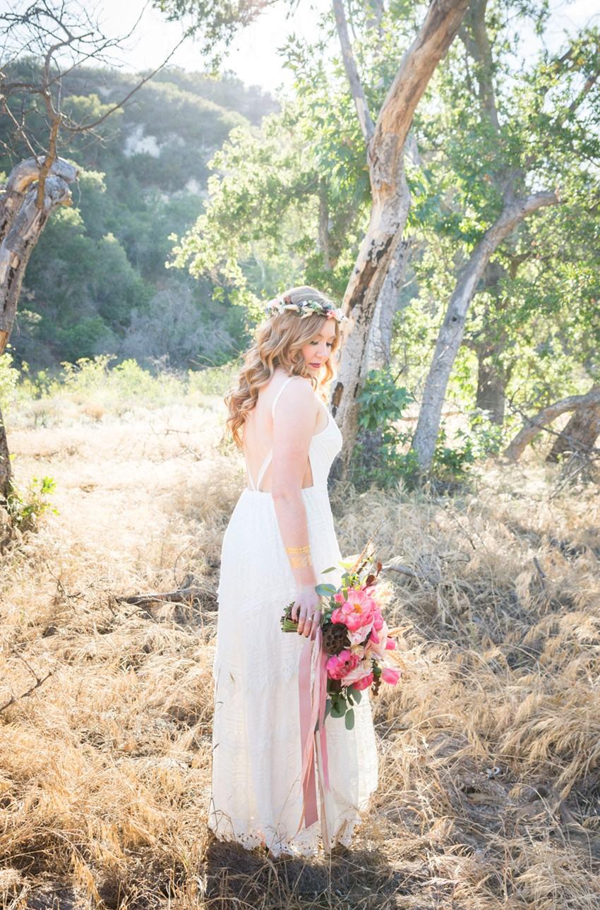 A Boho Vintage Bride