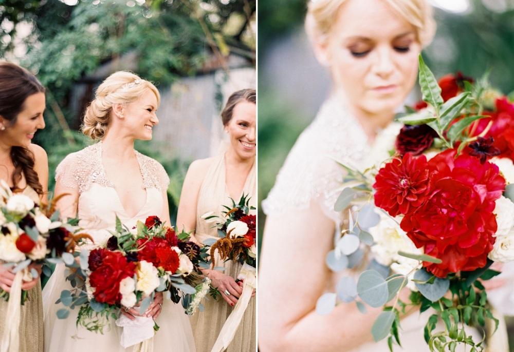 Bride & Bridesmaids Bouquets // Photography ~ Marissa Lambert Photography