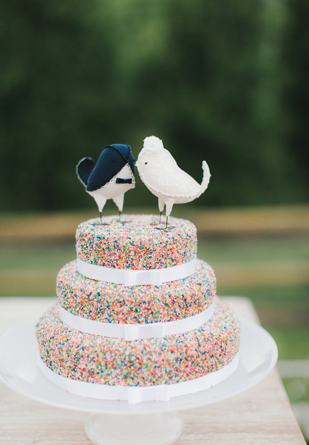 Fabulous Wedding Cake Toppers - Birds