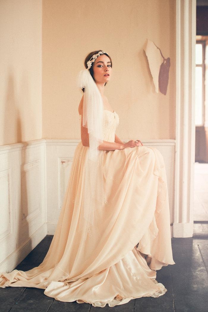 Charlie Bohemian Wedding Vine Amp Veil Chic Vintage