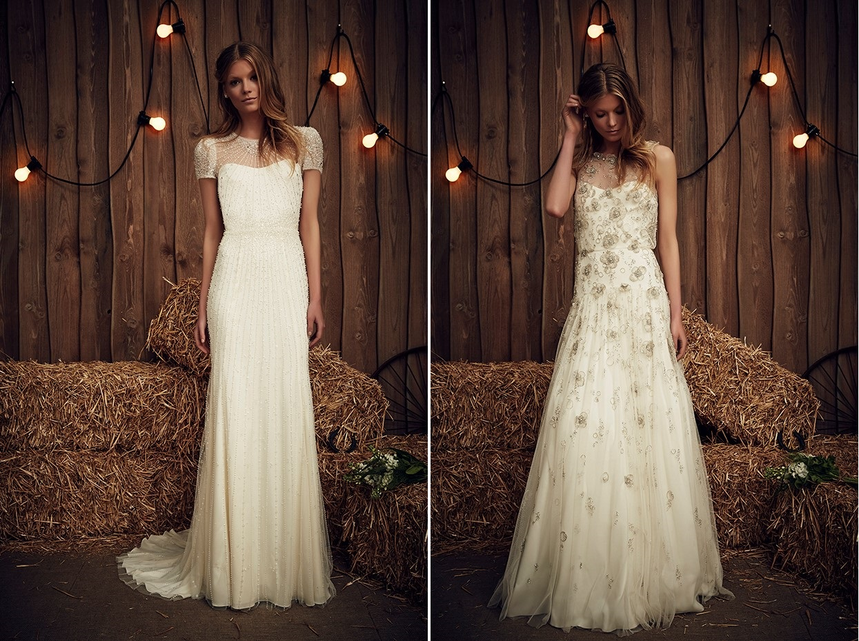 Dallas & Oklahoma from Jenny Packham's Spring 2017 Bridal Collection