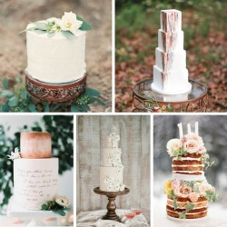 Elegantly Tall Wedding Cakes