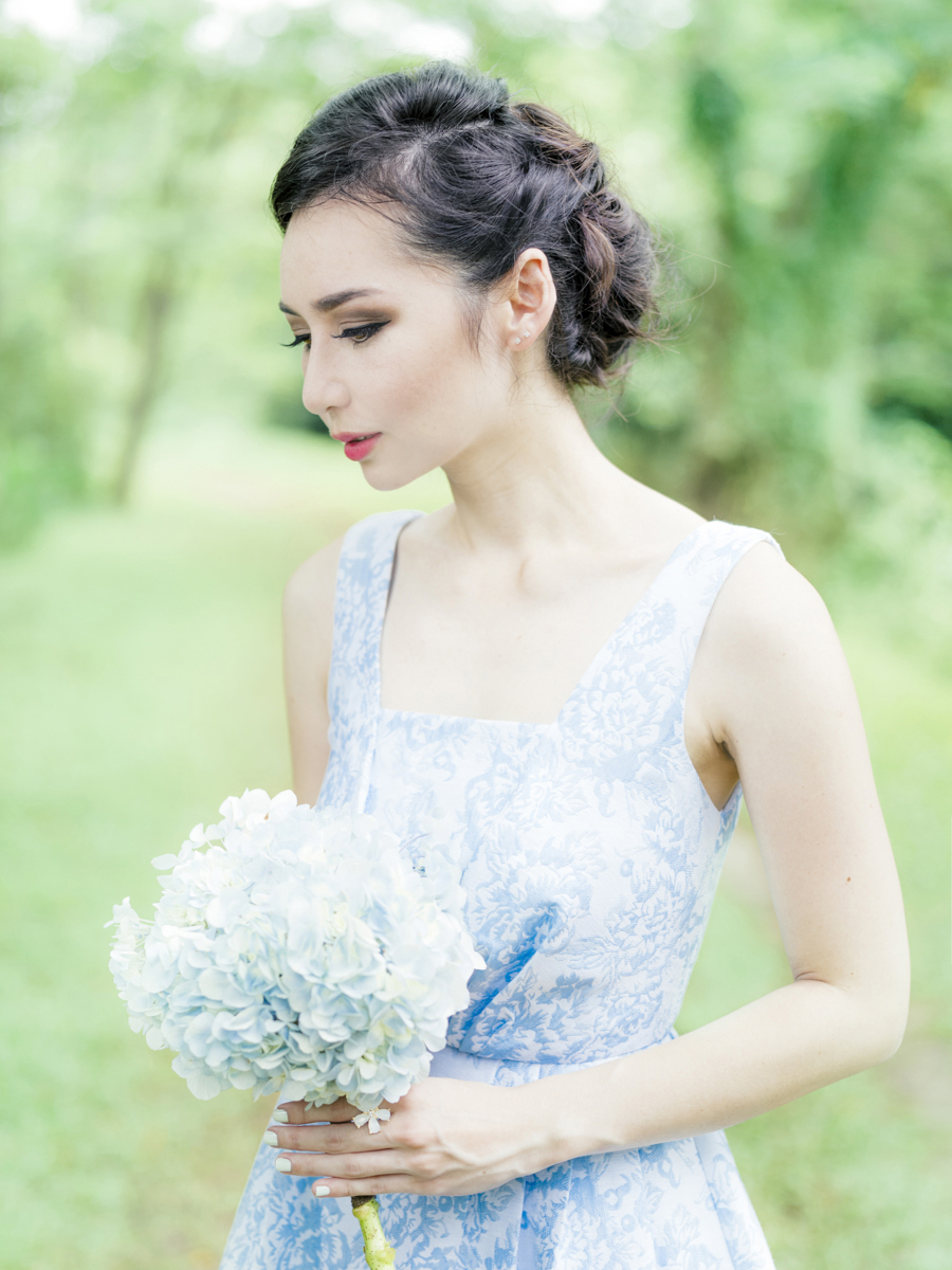 Hydrangea Single Stem Bouquet