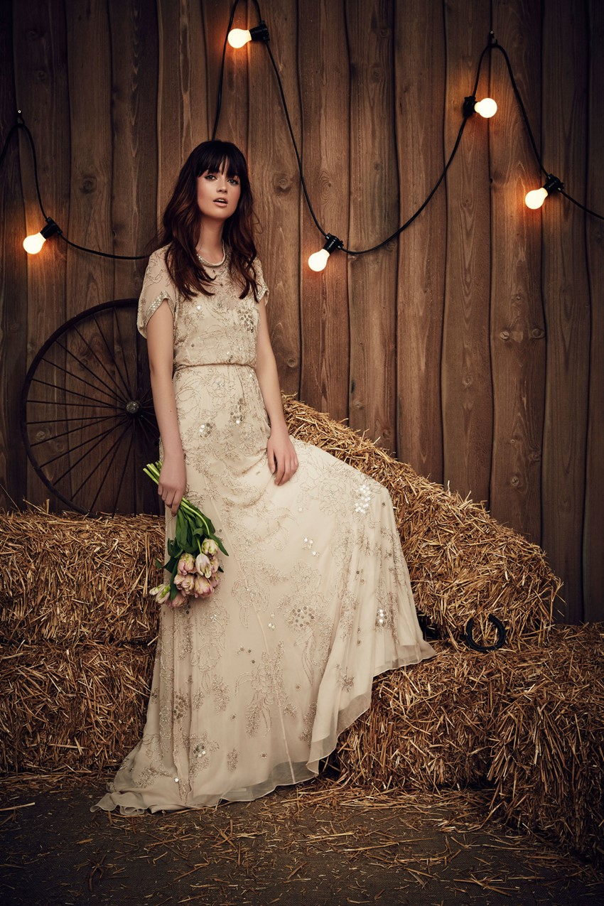 Blossom from Jenny Packham's Spring 2017 Bridal Collection