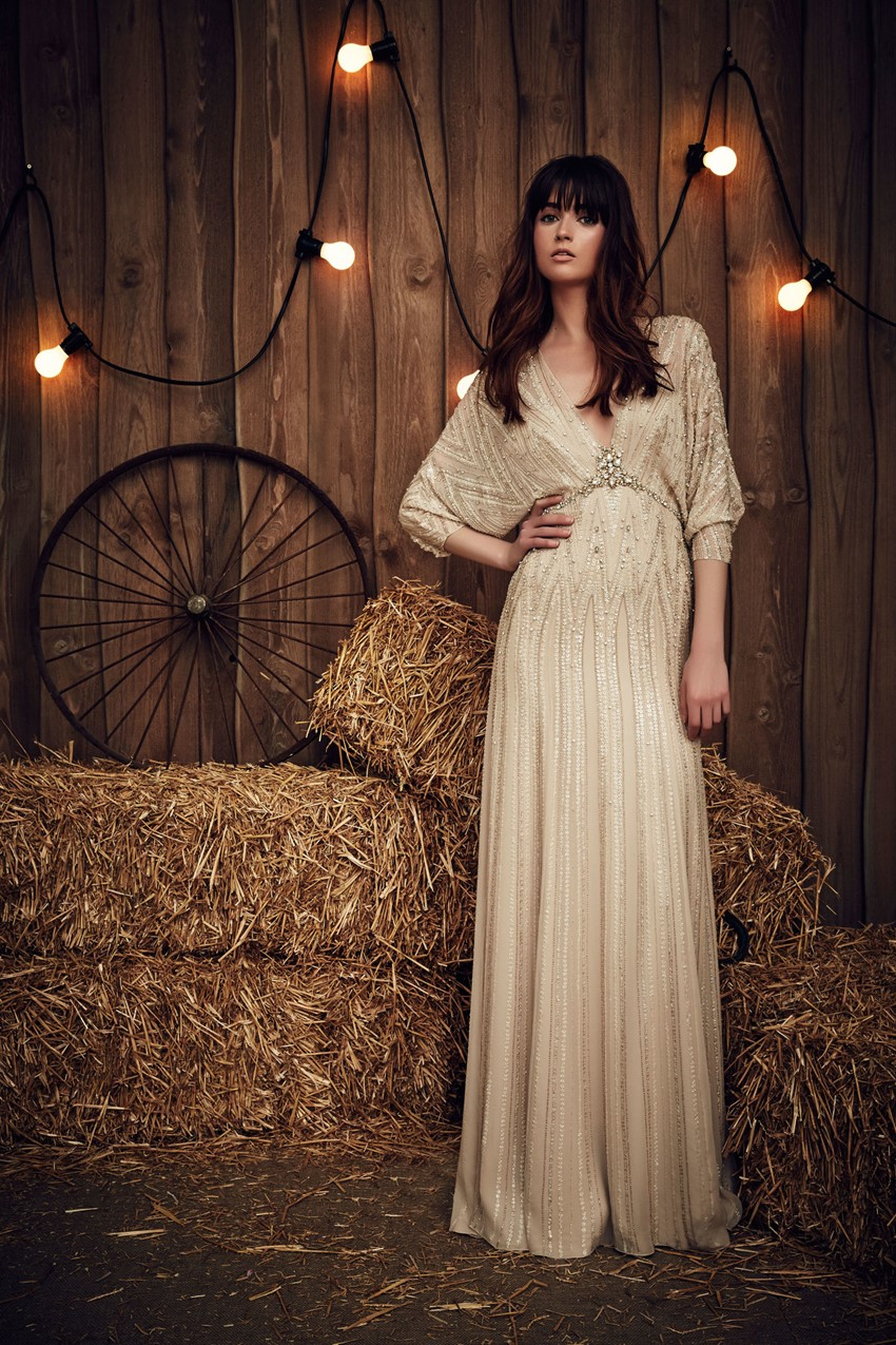 Montana from Jenny Packham's Spring 2017 Bridal Collection