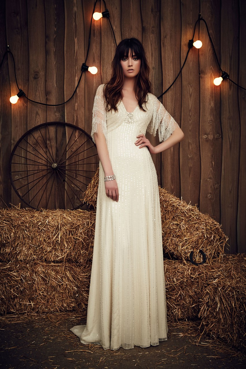 Savannah from Jenny Packham's Spring 2017 Bridal Collection