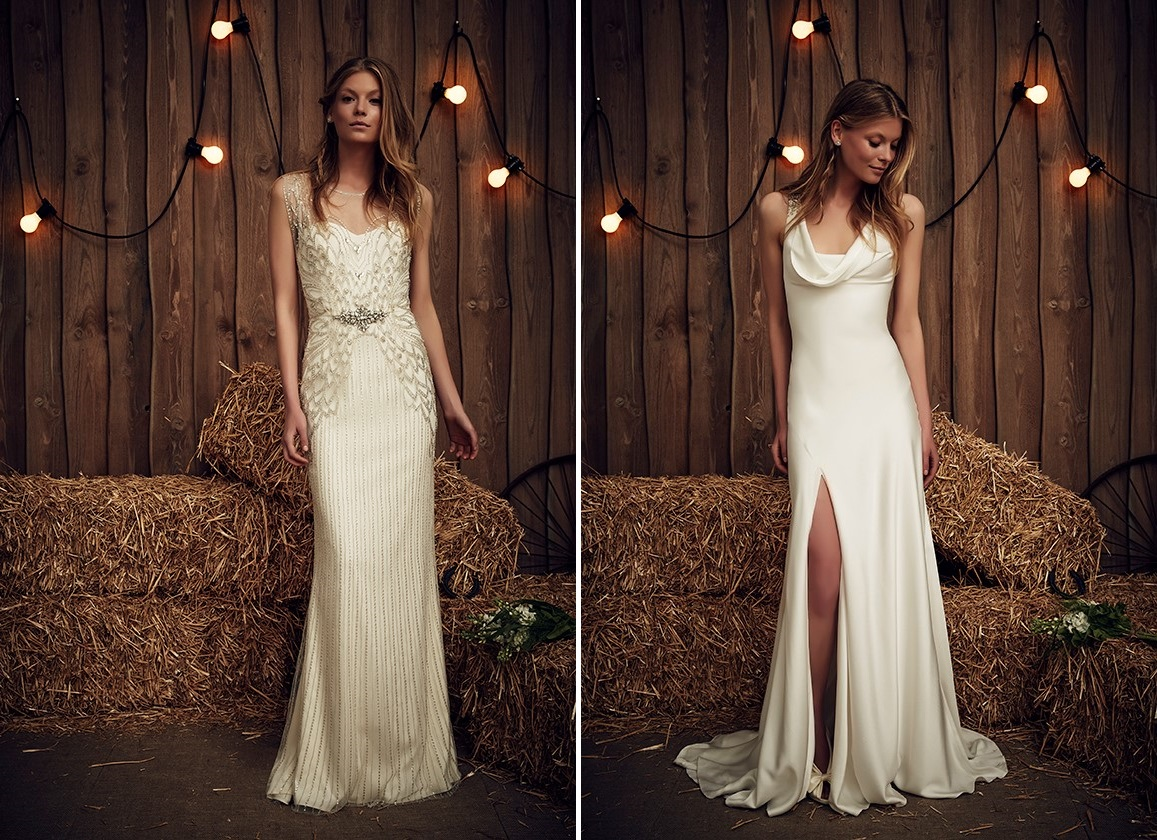 Lyra & Eclipse from Jenny Packham's Spring 2017 Bridal Collection