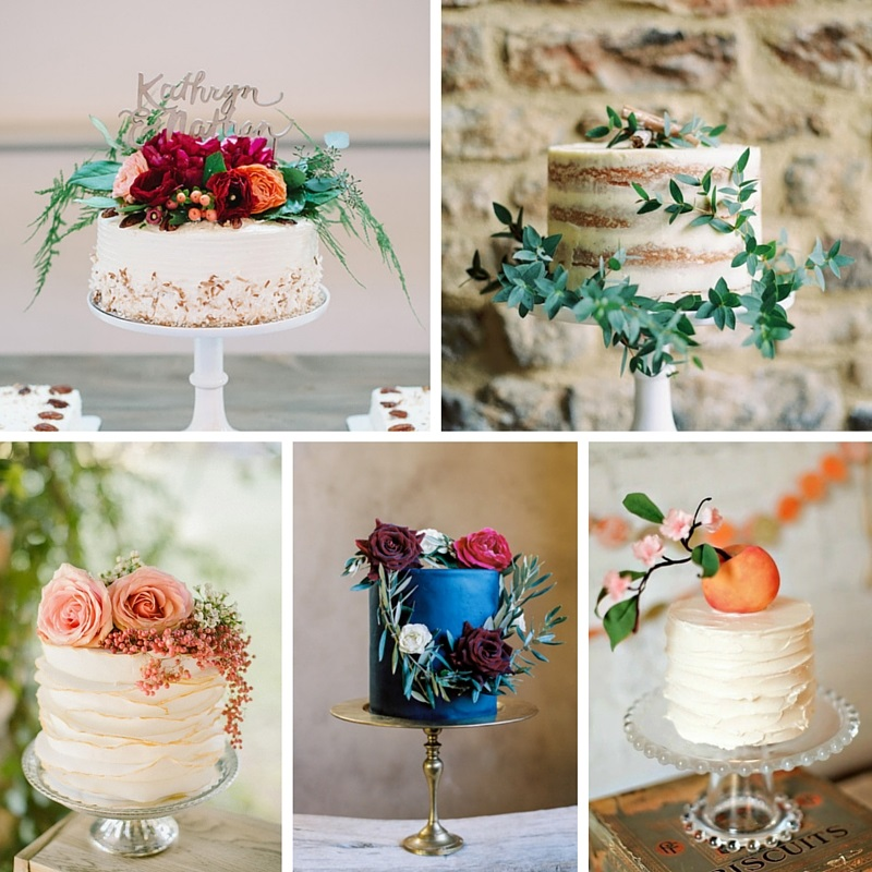 20 Single Tier Wedding Cakes With Wow