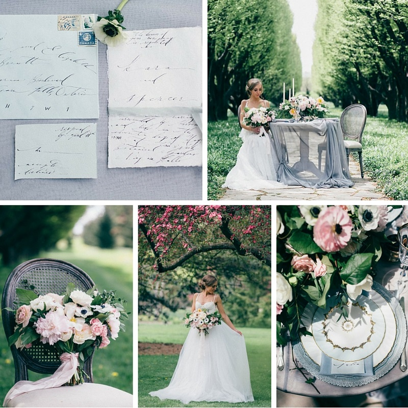 """Spring Awakening"" A Romantic Spring Bridal Shoot"