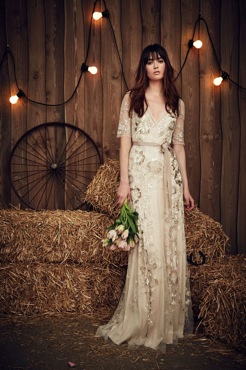 Jenny Packham's Spring 2017 Bridal Collection