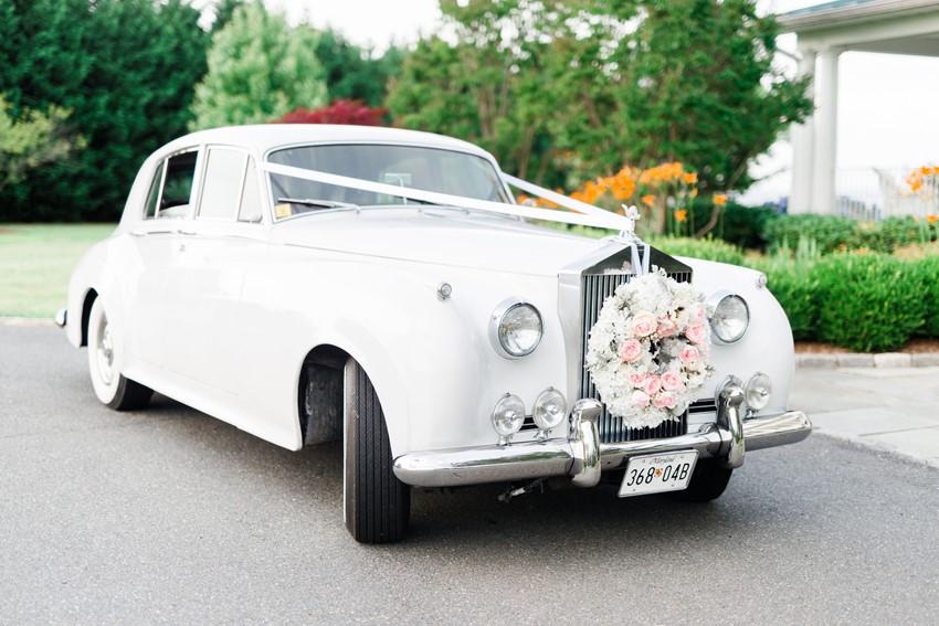 Vintage Inspired Nautical Wedding Limousine // Photography ~ Anna Kardos