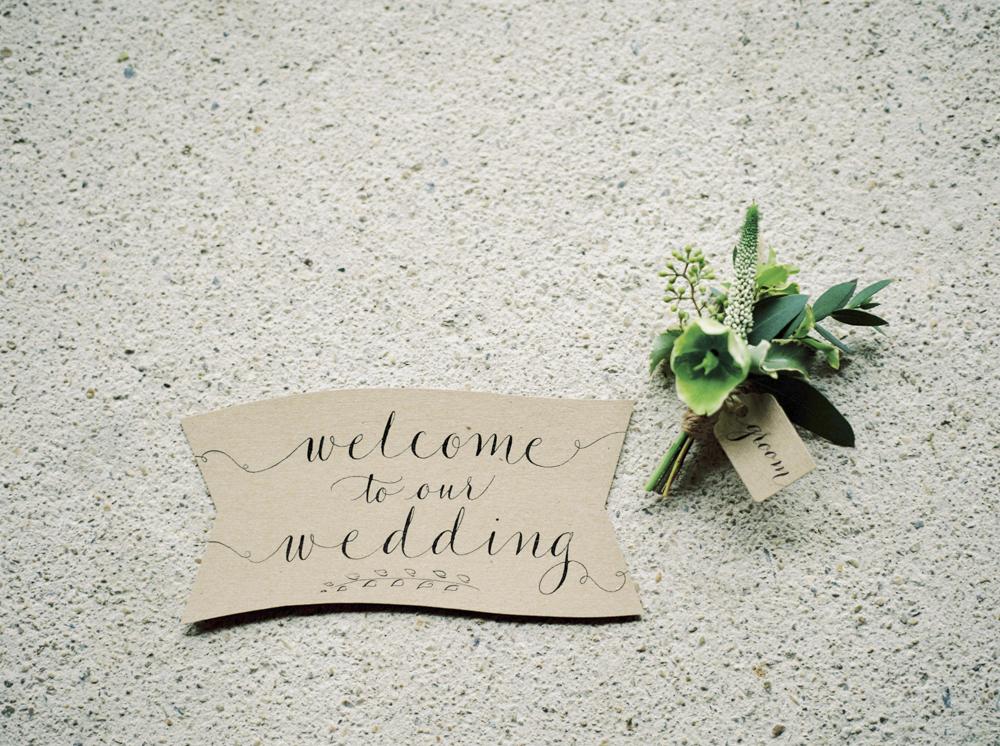 Elegant Rustic Wedding Stationery // Photography ~ Theresa Furey