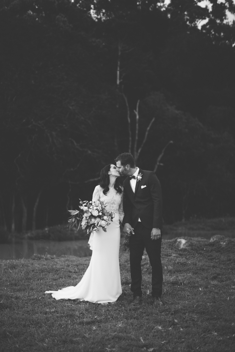 Black & White Wedding Portrait // Photography - White Images