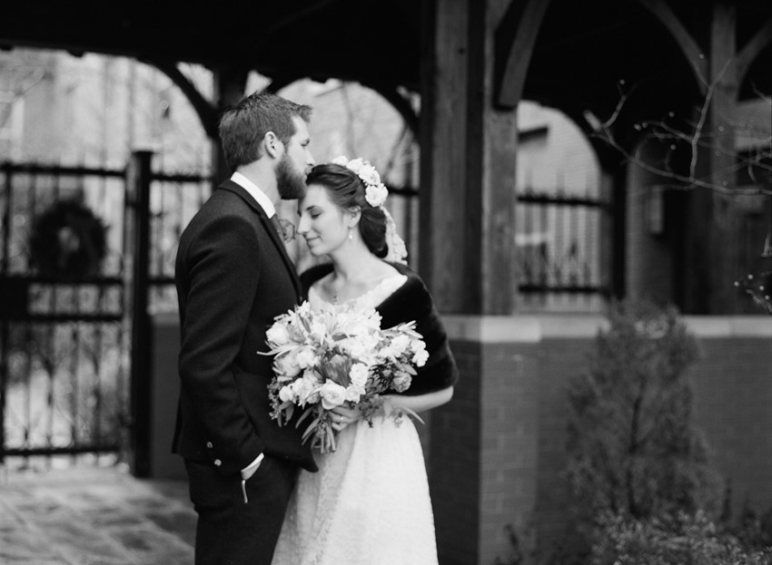 Vintage Inspired Bride & Groom// Photography ~ Whitney Neal