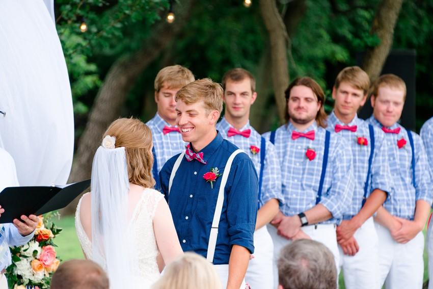 Nautical Wedding Ceremony // Photography ~ Anna Kardos