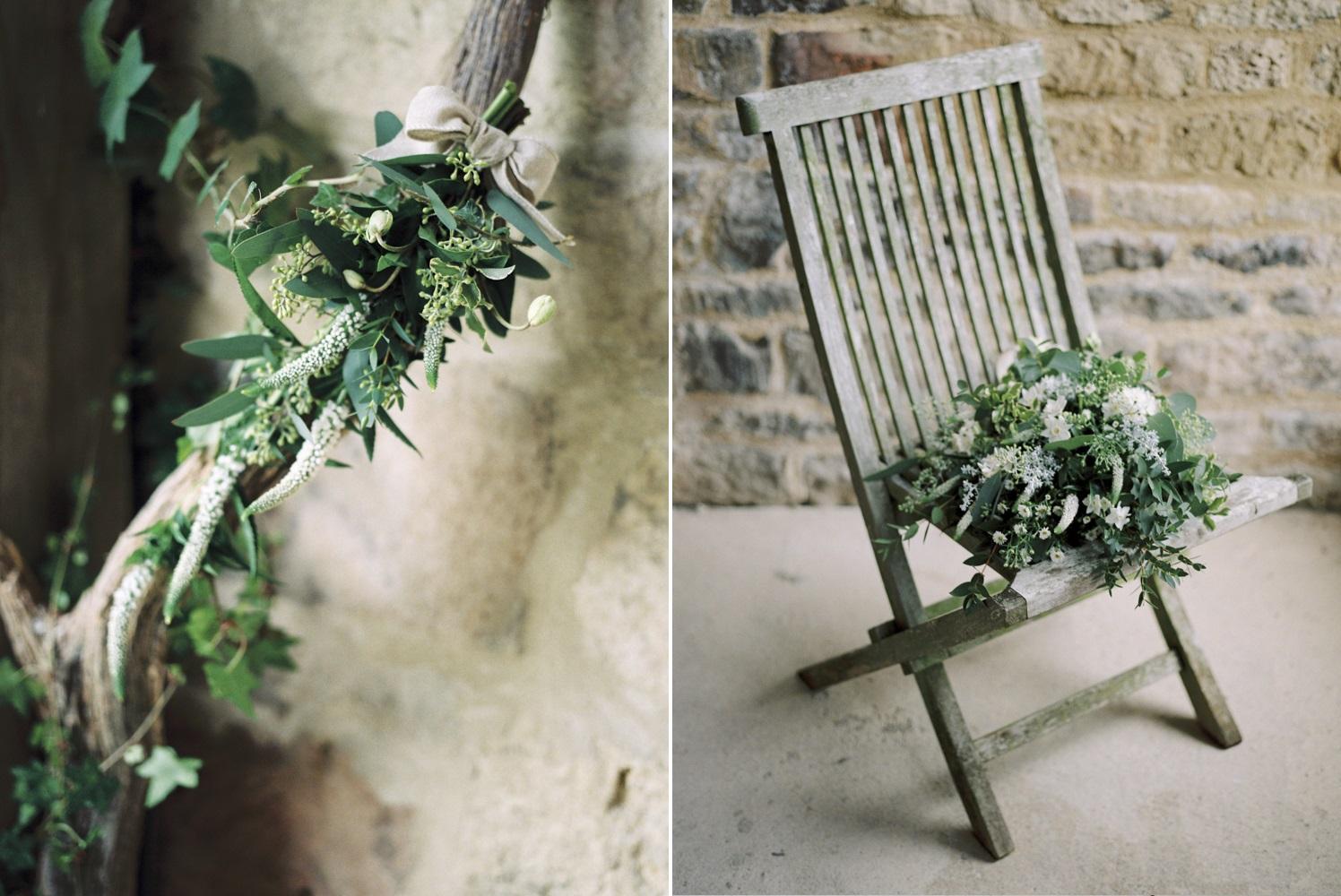 Elegant Rustic Wedding Flowers // Photography ~ Theresa Furey
