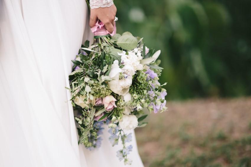 Pretty Pastel Bridal Bouquet // Photography ~ White Images