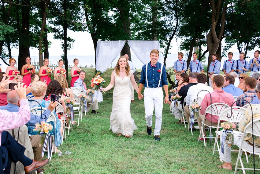 Nautical Wedding Ceremony // Photography ~ Anna Kardos