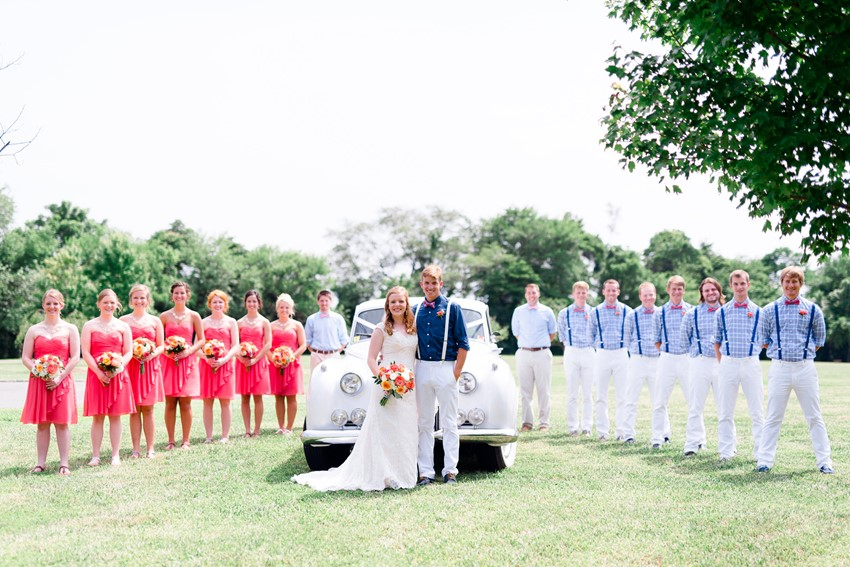 Wedding Party Portraits // Photography ~ Anna Kardos