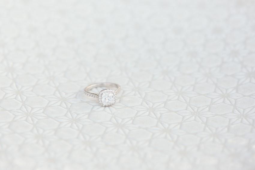Diamond Halo Engagement Ring // Photography ~ White Images
