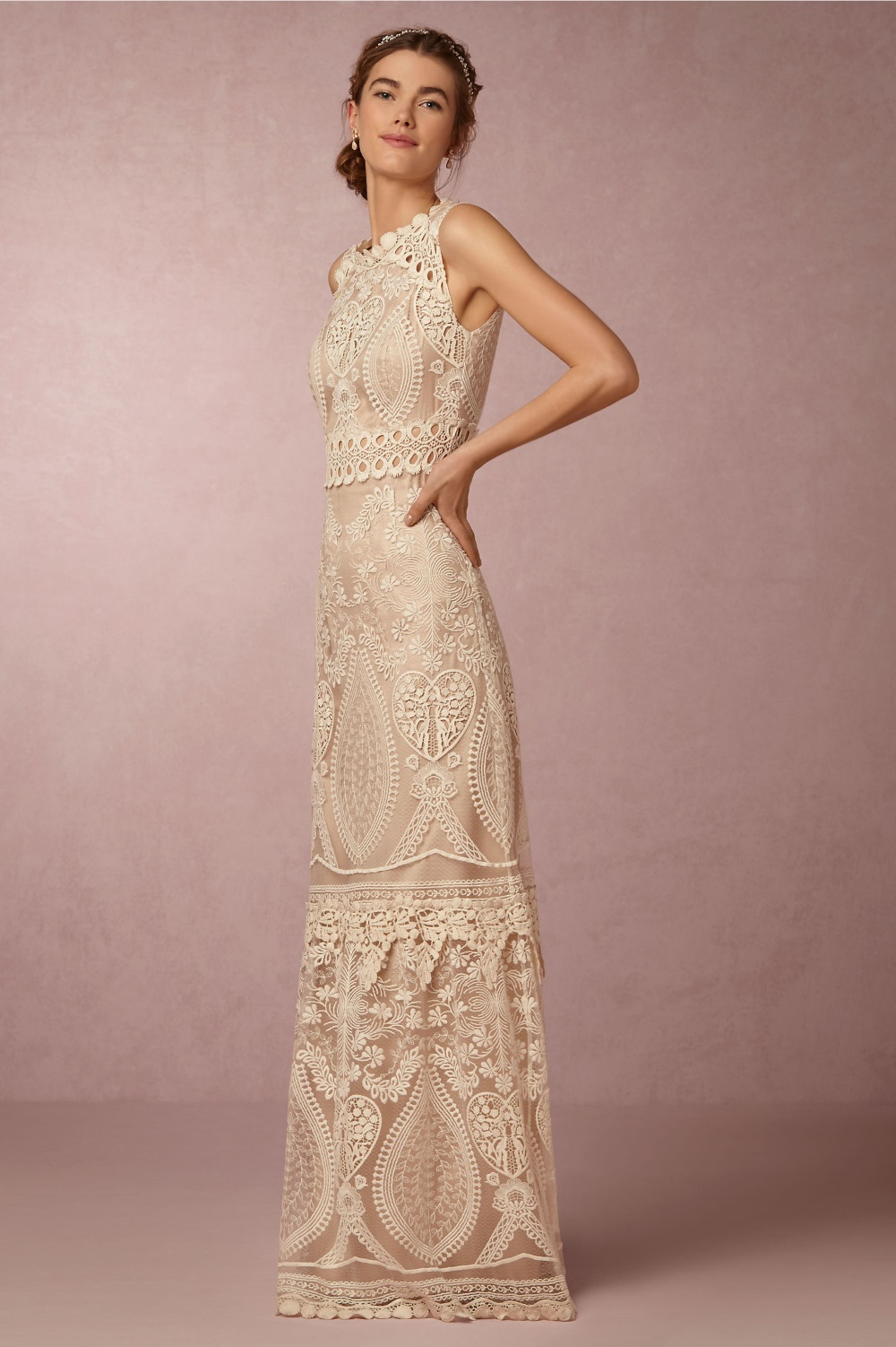 Roane\' Embroidered Bridal Gown - Chic Vintage Brides : Chic Vintage ...