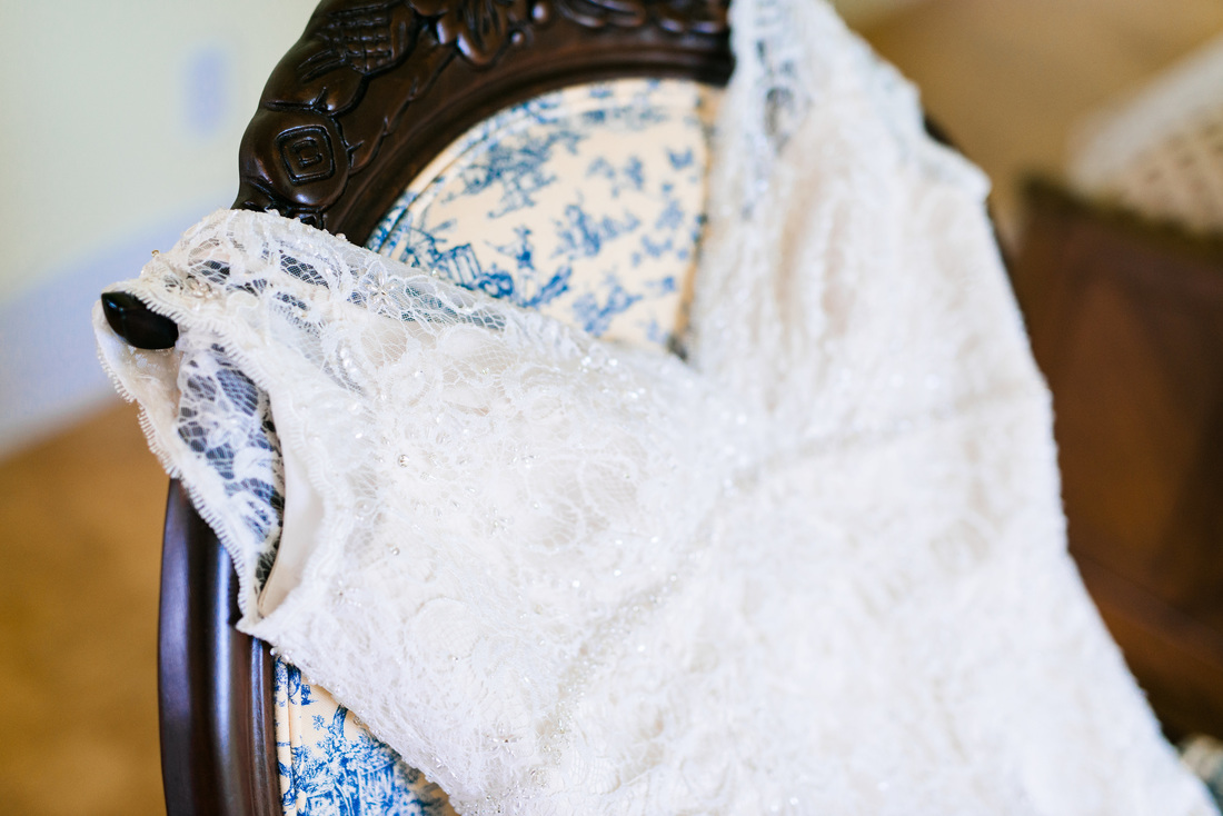 Budget Friendly Lace Wedding Dress // Photography ~ Anna Kardos