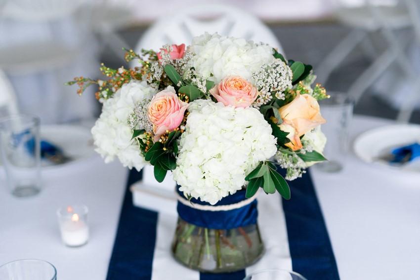 Nautical Wedding Centrepiece // Photography ~ Anna Kardos