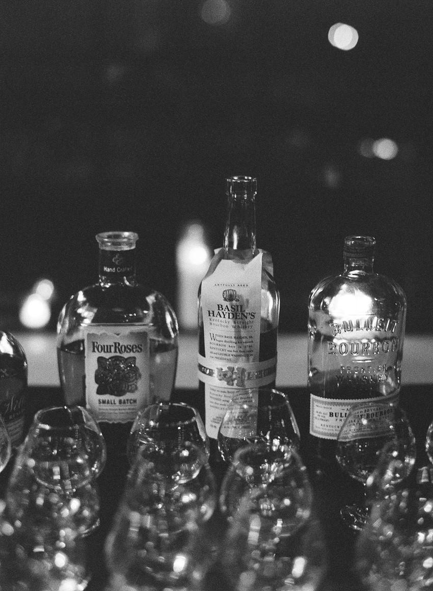 Wedding Whiskey Bar // Photography ~ Whitney Neal