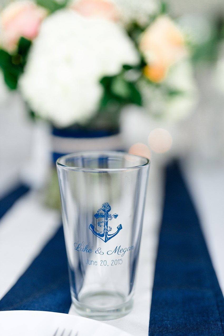 Nautical Wedding Favour // Photography ~ Anna Kardos