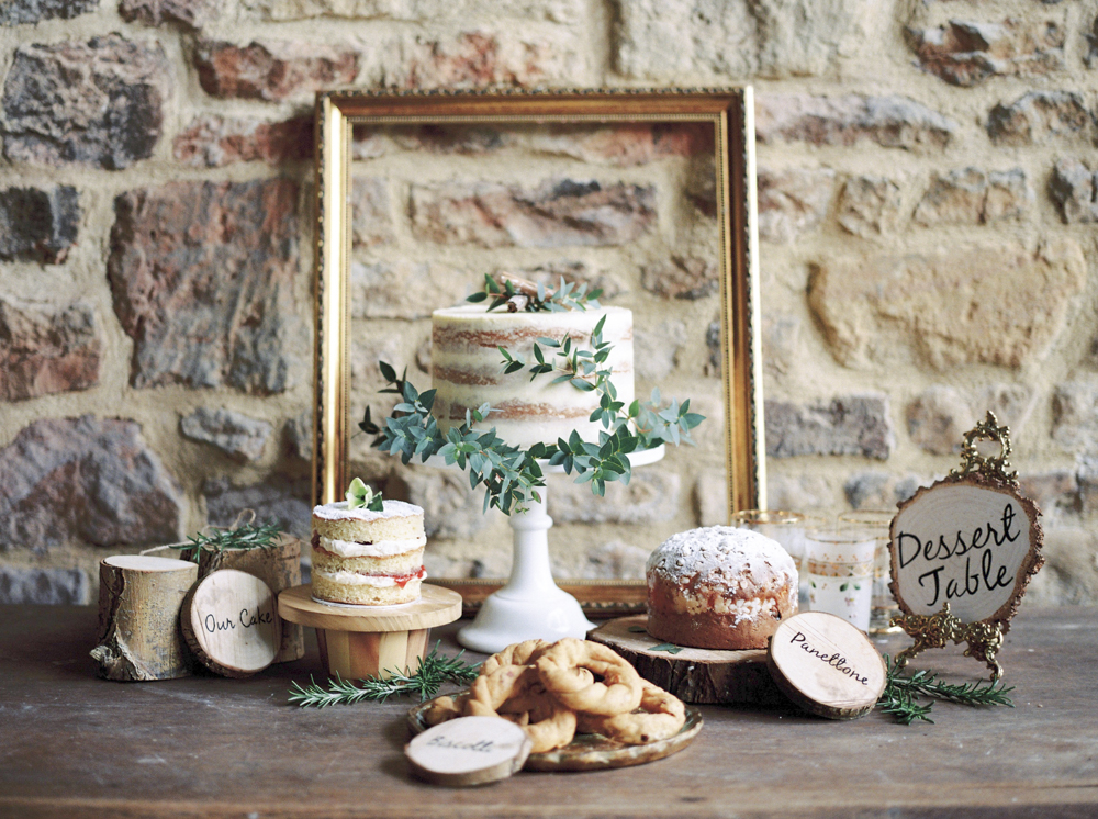 Elegant Rustic Dessert Table // Photography ~ Theresa Furey