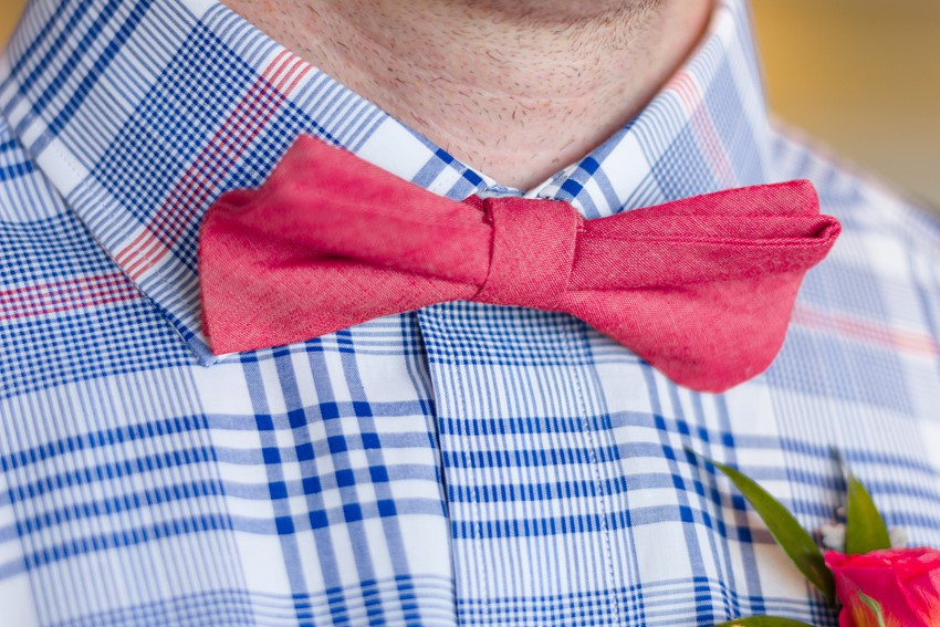 Checked Shirt & Bow Tie // Photography ~ Anna Kardos