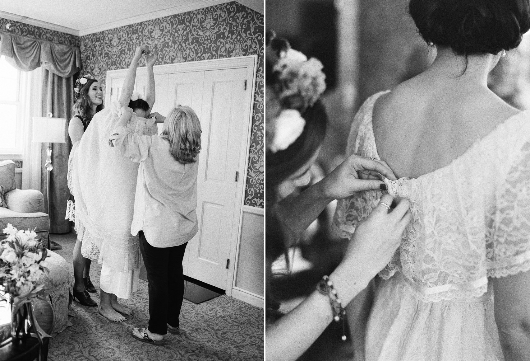 Bride Getting Ready // Photography ~ Whitney Neal