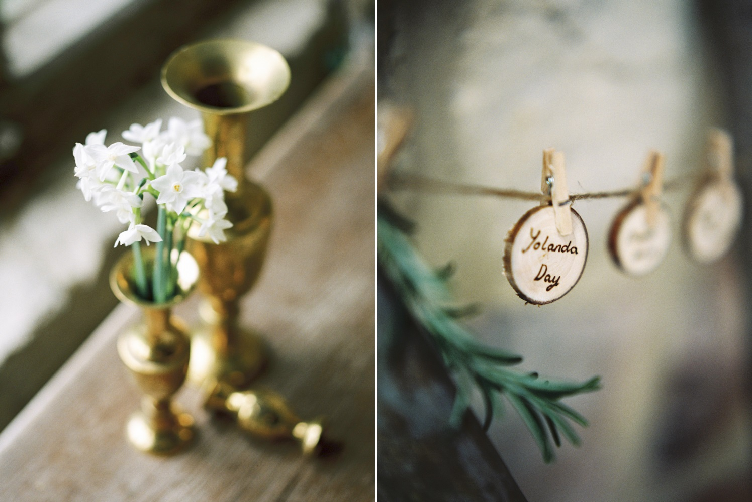 Elegant Rustic Wedding Decor // Photography ~ Theresa Furey