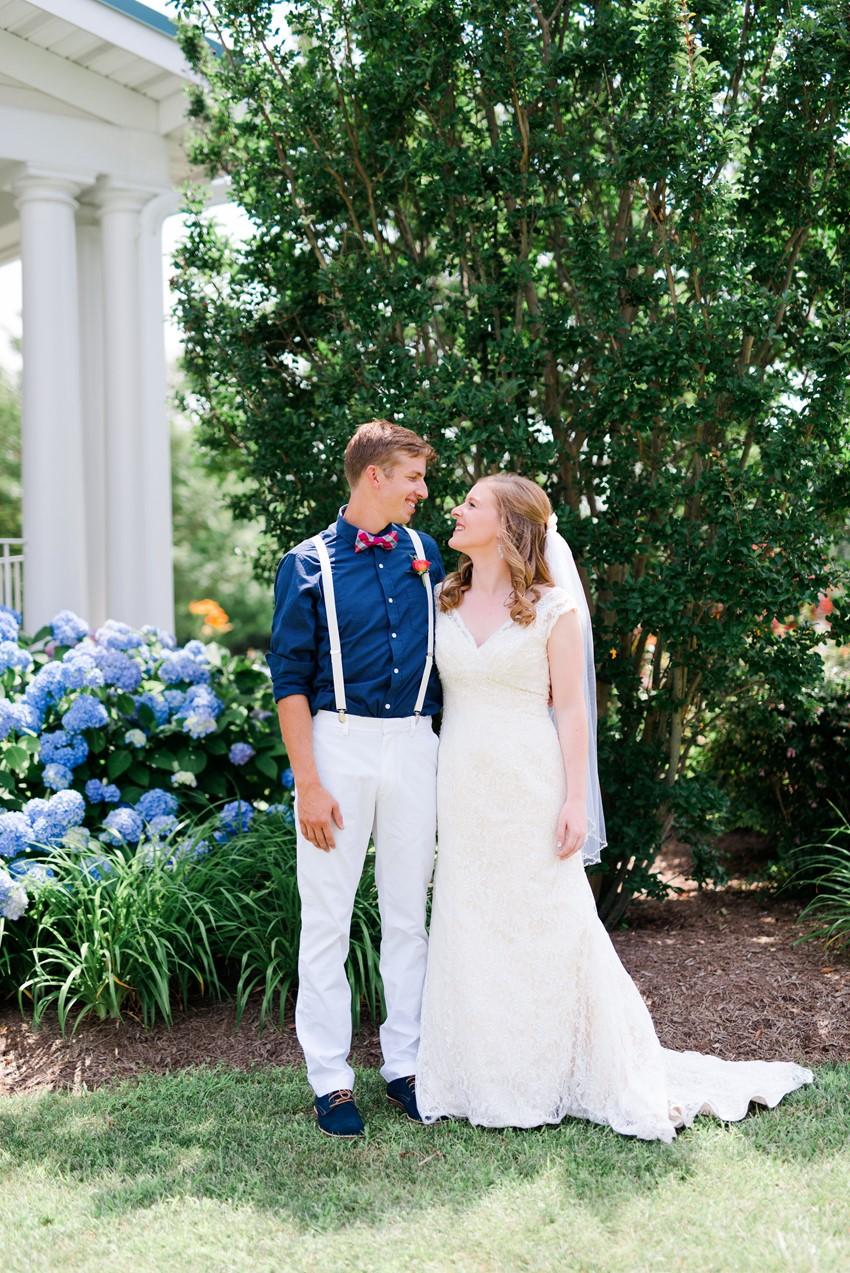 Romantic Nautical Wedding First Look // Photography ~ Anna Kardos