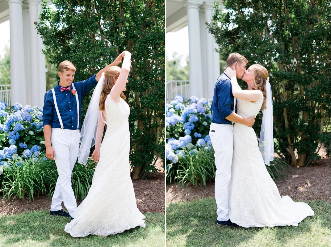 A Vintage-Inspired Nautical Summer Wedding in Coral & Navy - Chic ...