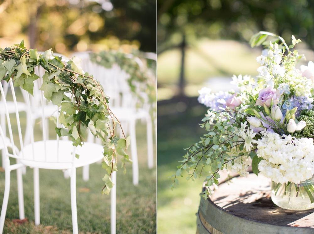 Romantic Outdoor Wedding Ceremony Decor // Photography ~ White Images