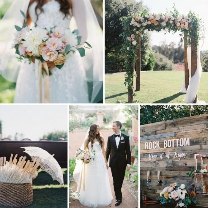 A Romantic Outdoor Wedding