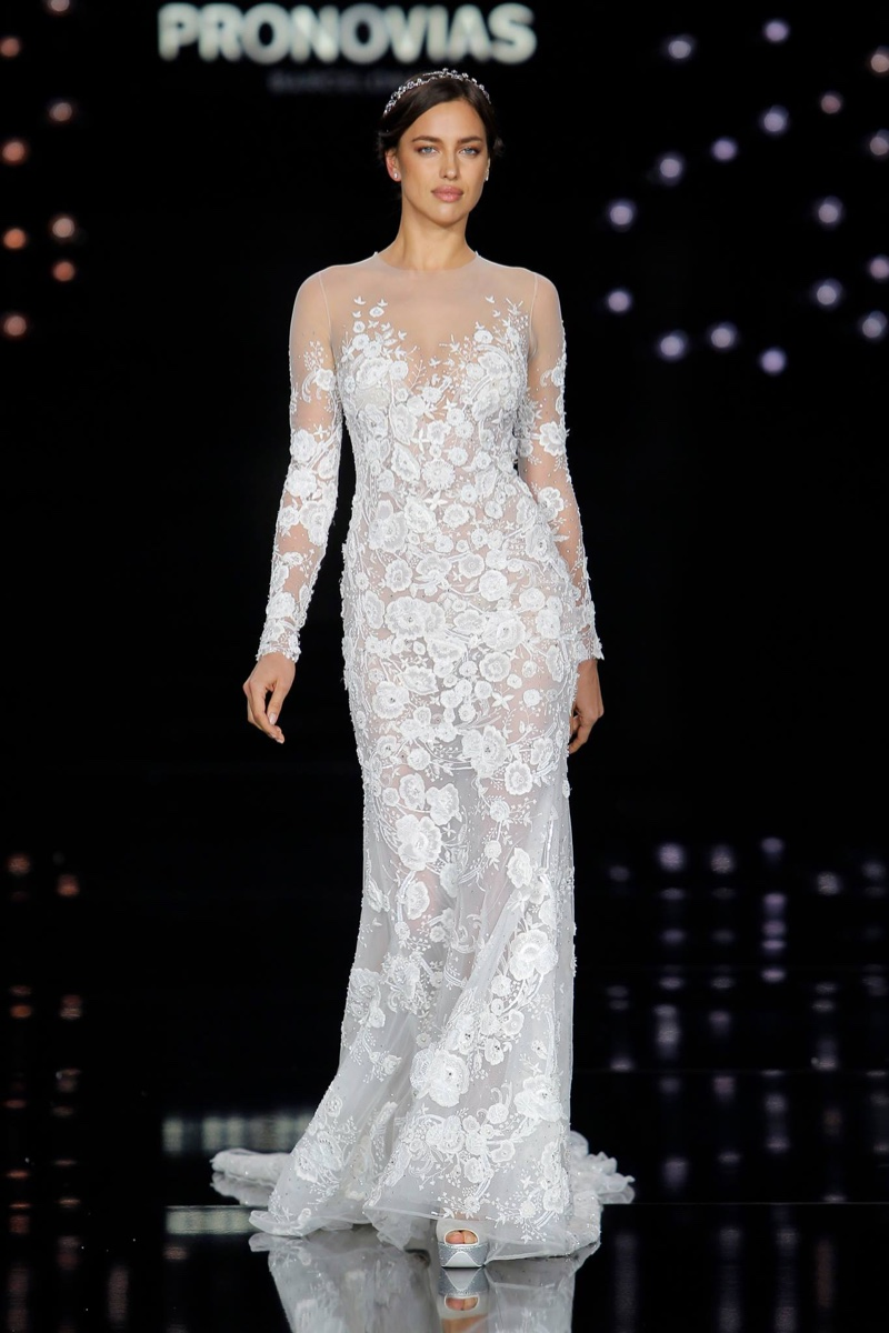 See Through Wedding Dresses from Atelier Pronovias