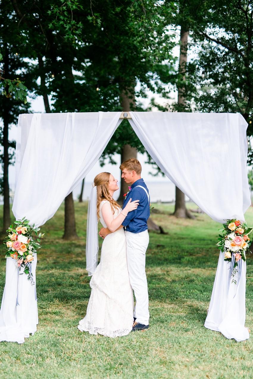 Vintage Inspired Summer Wedding // Photography ~ Anna Kardos