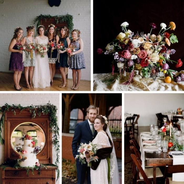 A Victorian Inspired Church Wedding