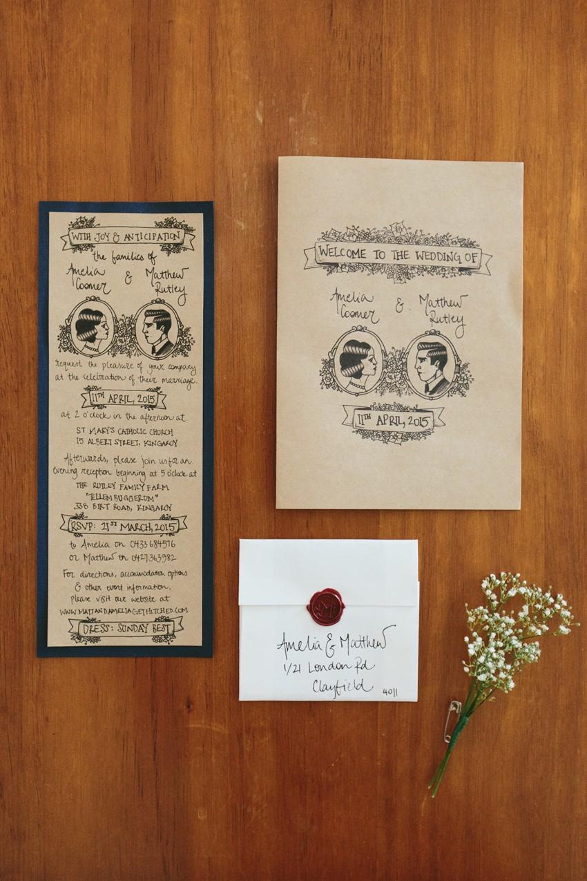 DIY Wedding Stationery // Photography ~ White Images