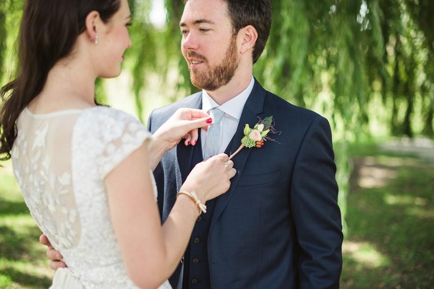 Romantic Wedding Portraits // Photography ~ Meredith Lord Photography