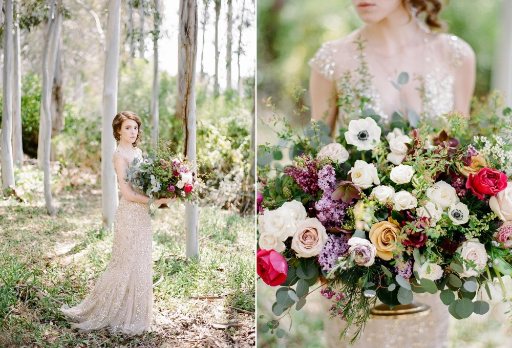 Stunning Summer Wedding Flowers // Photography ~ Rebecca Yale Photography