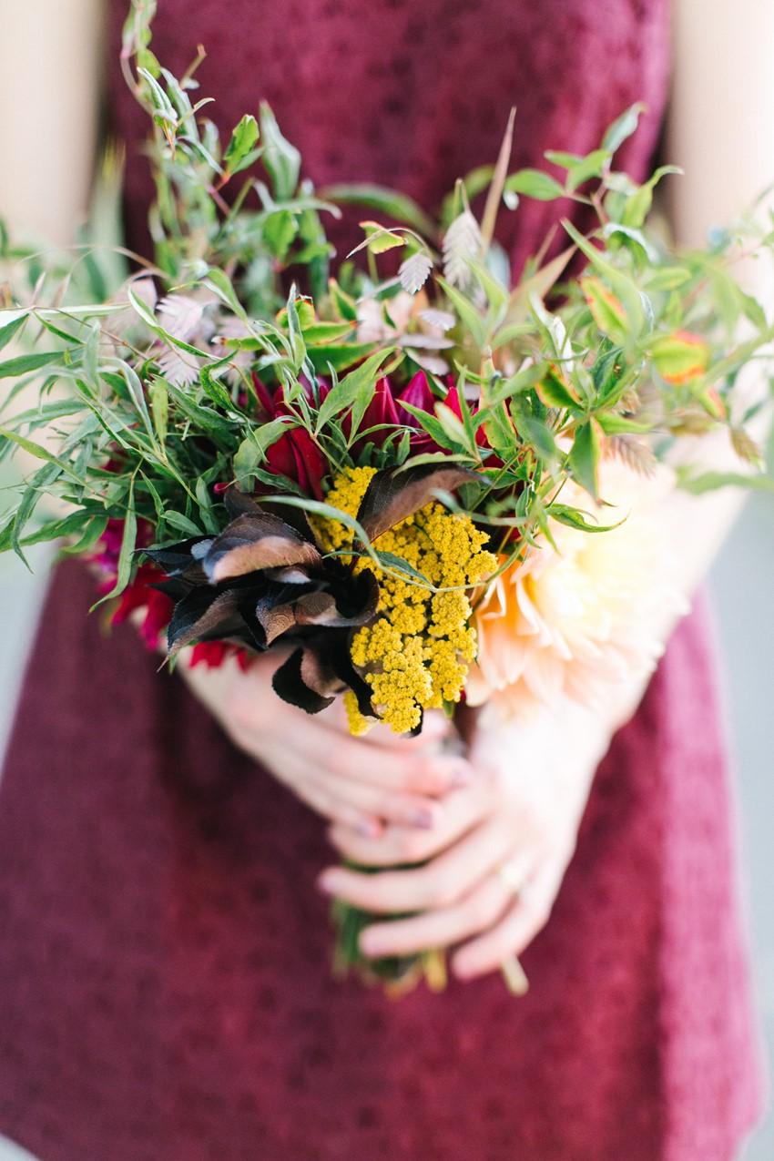 Bridesmaids Bouquet // Photography ~ Maria Lamb