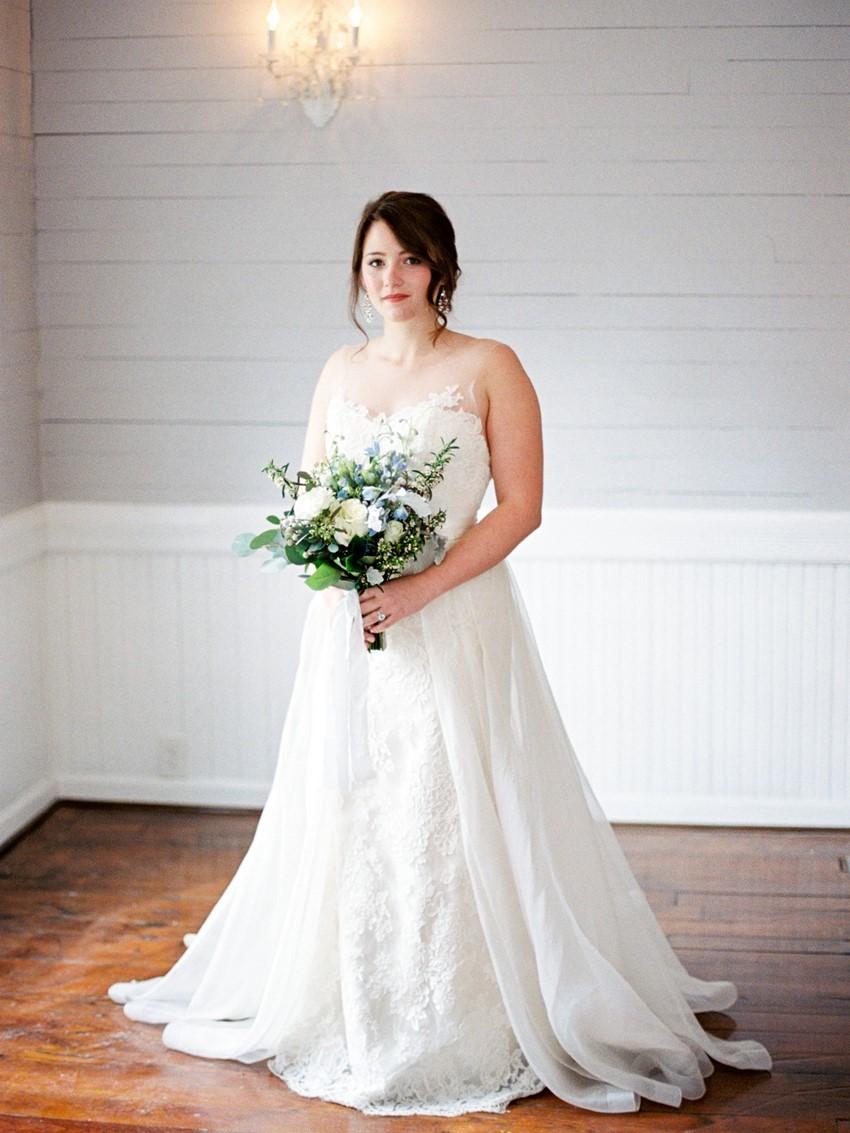 Romantic Wedding Dress // Photography ~ Live View Studios